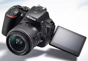 Nikon D5500 mit Touchscreen