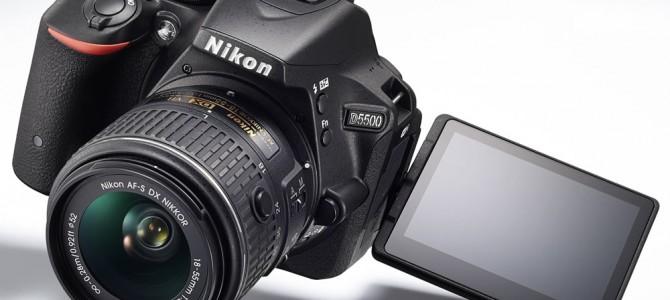 NEU: Nikon D5500 – mit Touchscreen