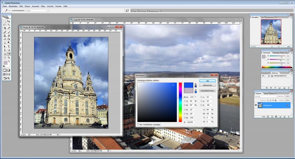 Unser Workshop zur Bildbearbeitung mit Adobe Photoshop findet am 25.Februar statt.