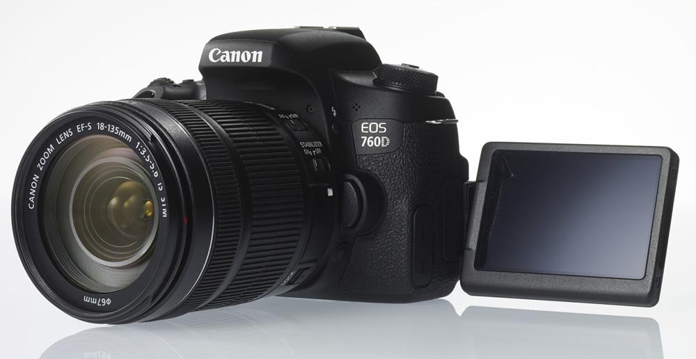 NEU: Canon EOS 760D – für Fotos und Videos
