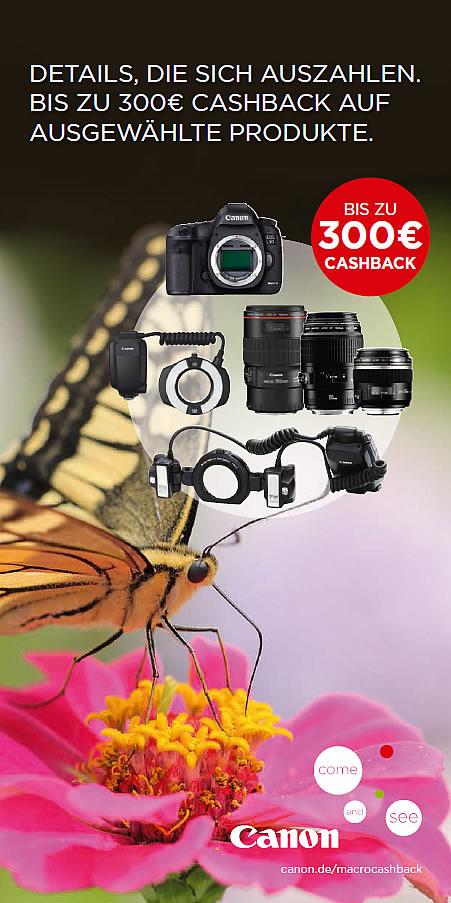 Neue Canon Cashback-Aktion – 300Euro EOS 5D MarkIII