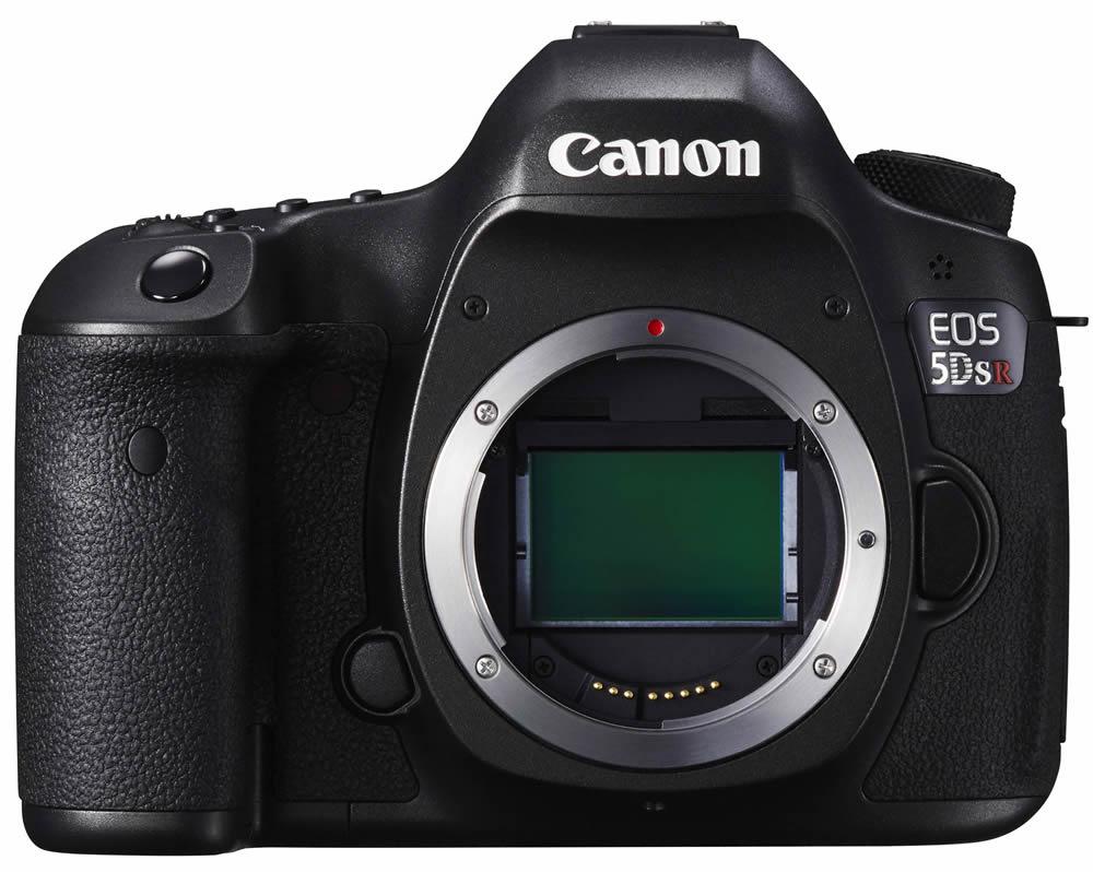 Canon EOS 5DS R mit Tiefpass-Aufhebungsfilter für maximale Schärfe