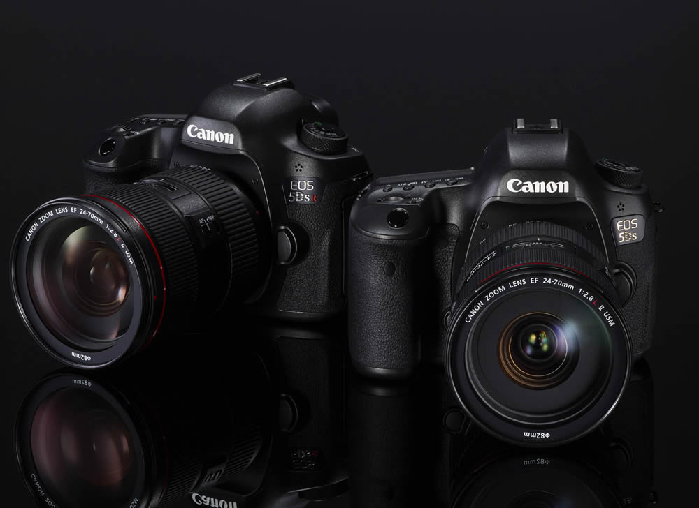 Neue Profiwerkzeuge: Canon EOS 5DS und EOS 5DS R