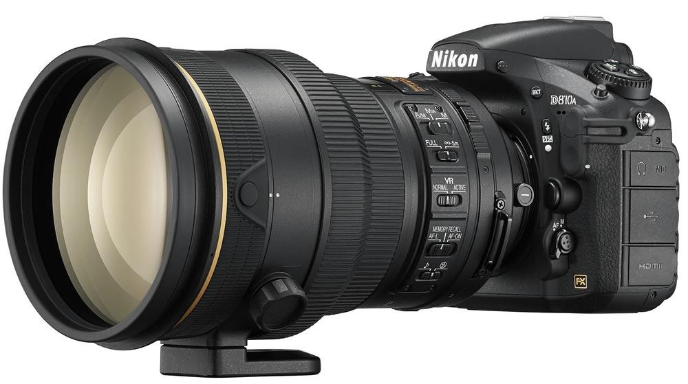 Nikon D810A – Vollformat für den Weltraum