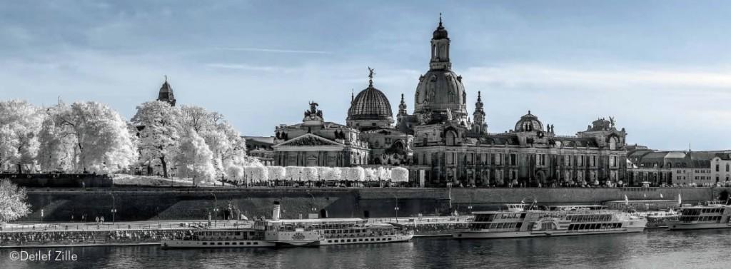 Dresden im infraroten Licht - von Detlef Zille