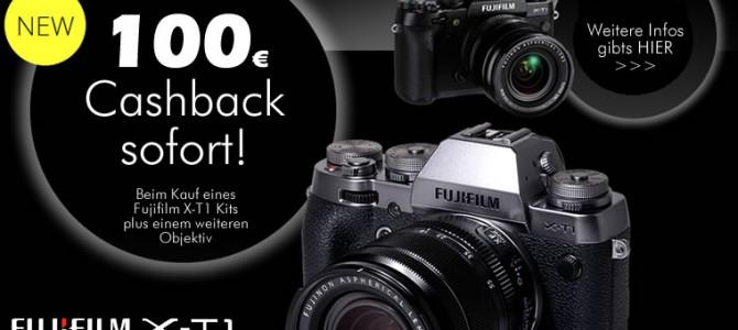 Fujifilm X-T1 100Euro Sofort-Cashback