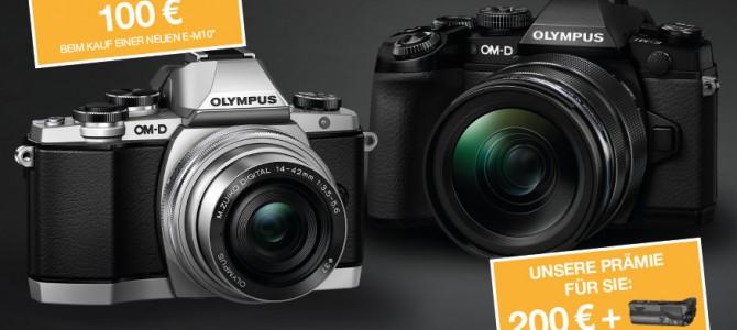 OLYMPUS Sommer Spezial – Angebote