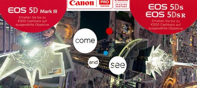 Canon Cashback Kombivorteil für EOS 5D Kameras