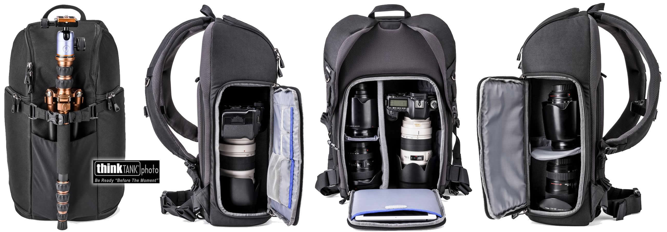 thinkTANK photo Trifecta Backpack – 3 Wege zum Glück