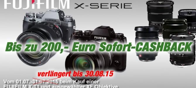Aktion: Fujifilm X-T1 Sofort-Cashback