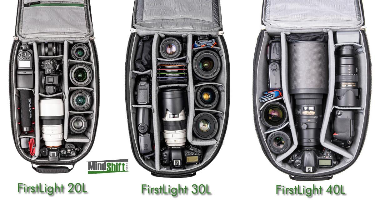 MindShift Gear FirstLight Backpacks
