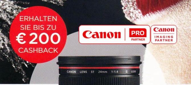 Canon Objektiv-Cashback