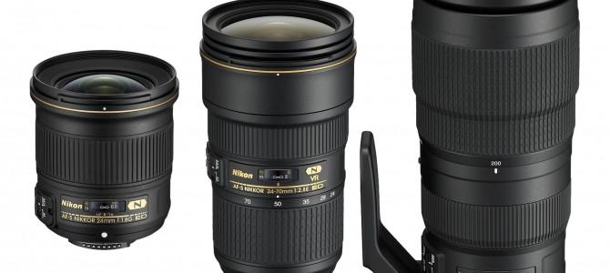 Nikon: Neue Objektive angekündigt