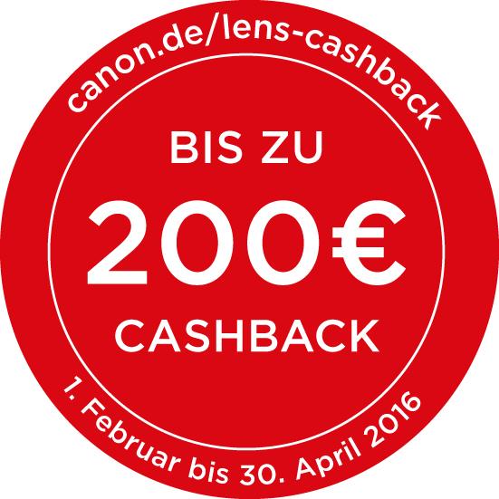 Canon Porträt Objektiv-Cashback