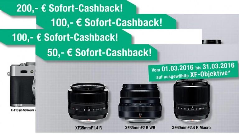 Fujifilm Cashback 2016