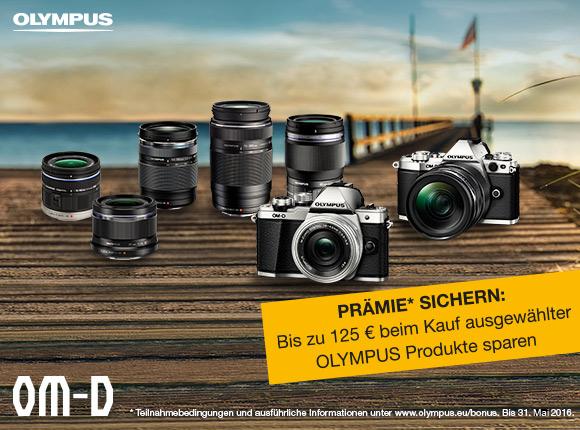 Olympus Sommer Spezial – bis 125Euro Prämie erhalten