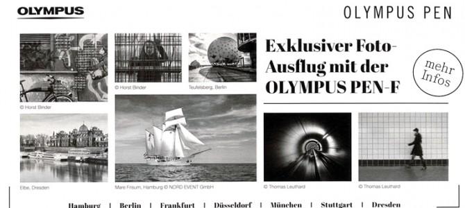 Exklusiver Fotoausflug mit Olympus PEN-F