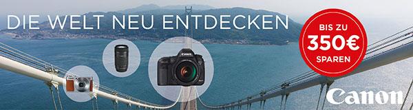 Canon Sommerpromotion – bis zu 350Euro sparen