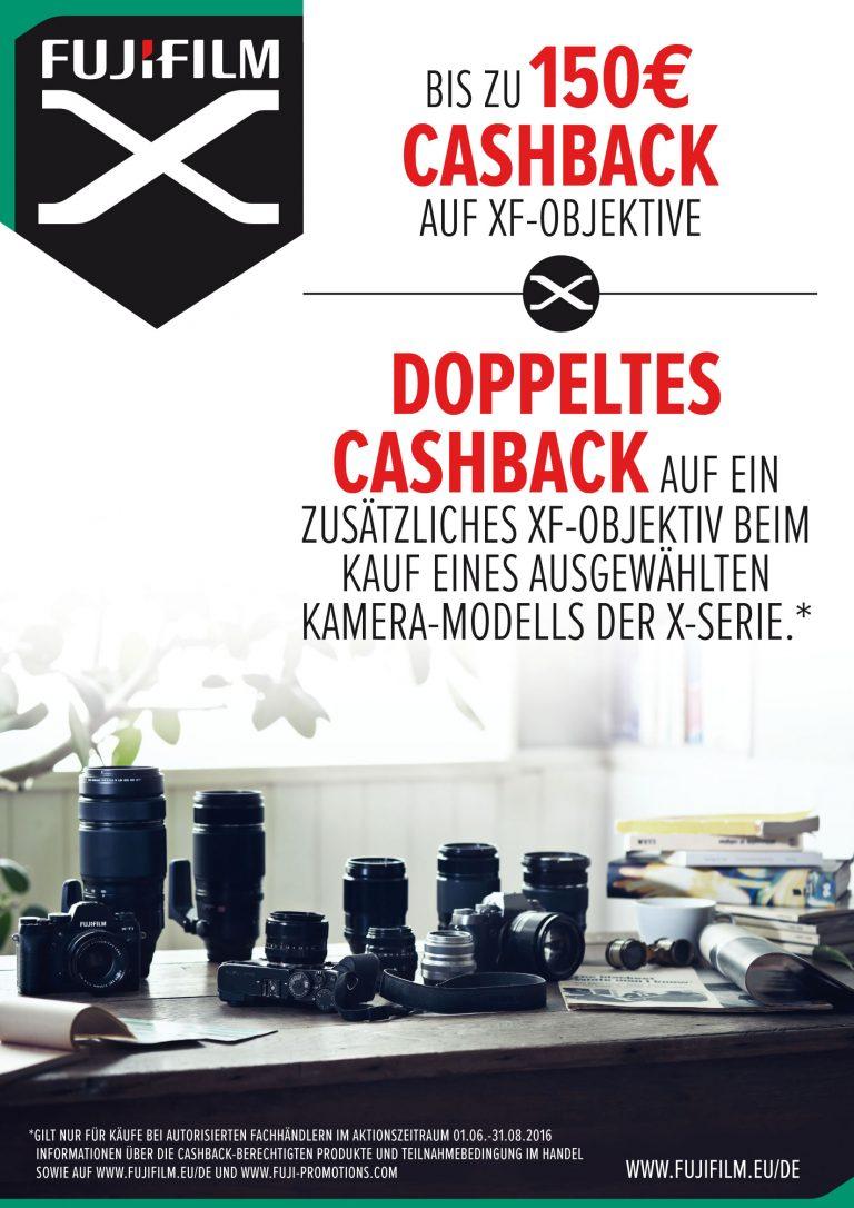 Fujifilm Aktion – Cashback für XF-Objektive