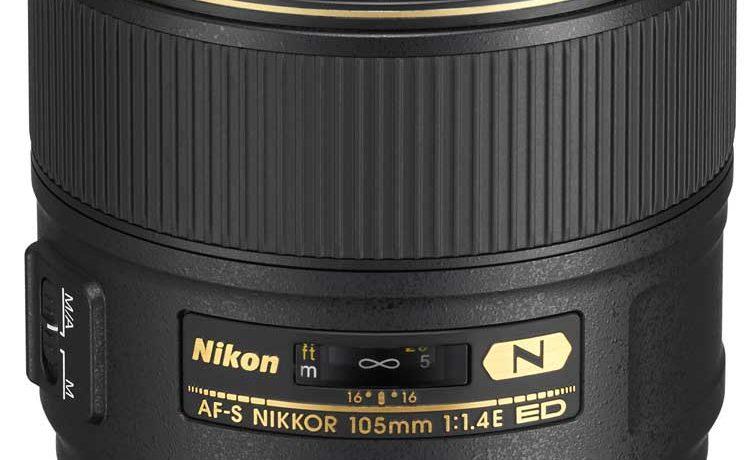 NEU: Nikon AF-S NIKKOR 105 MM 1:1,4E ED
