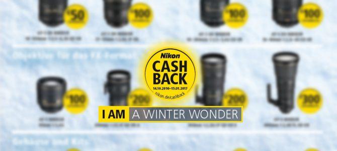 Nikon Cashback Aktion 2016/2017