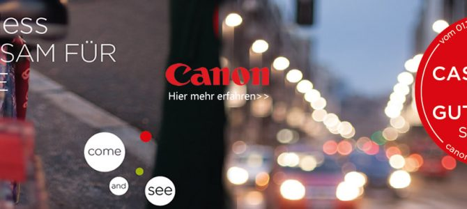 Canon Winteraktion 2016/2017