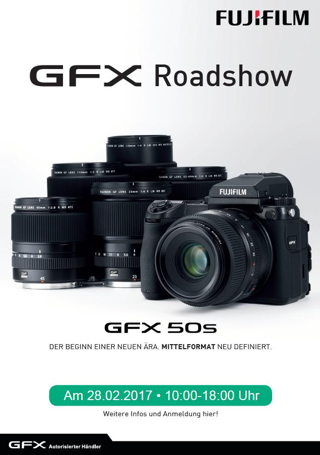 Fujifilm GFX Roadshow am 28.02.2017