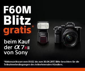 Sony Aktion – Gratis Blitz beim Kauf Alpha 7R II