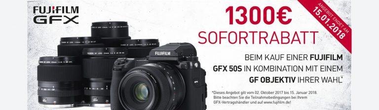 Fujifilm GFX Sofortrabatt Aktion