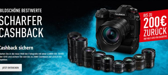 Panasonic Cashback-Aktion 2018