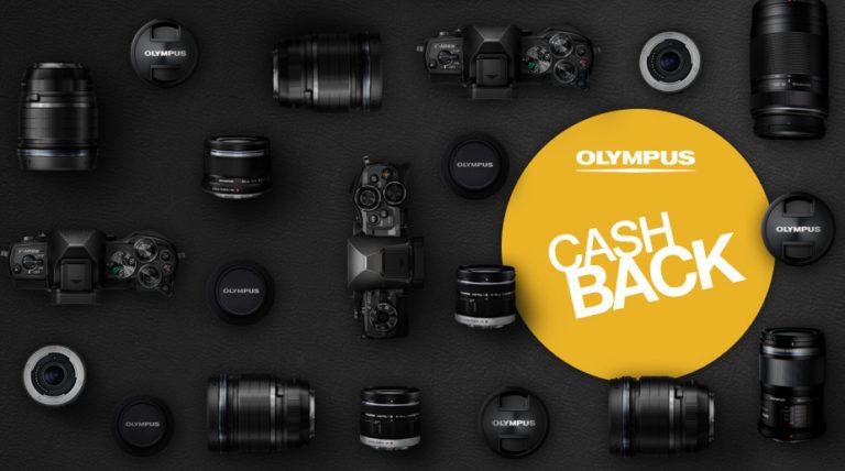 Olympus Sommer Cashback-Aktion