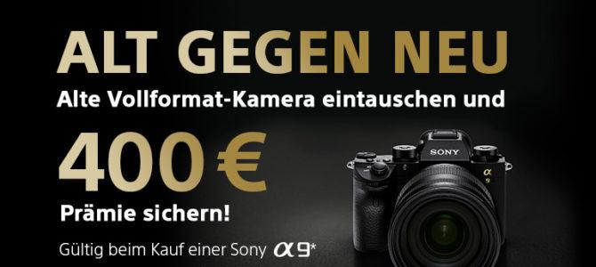 Sony Alpha 9 – Alt gegen Neu Aktion!