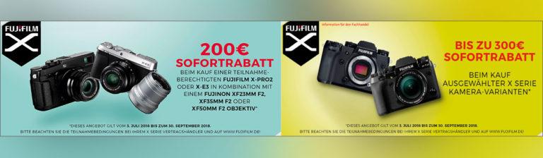 Fujifilm Sofort-Rabatt