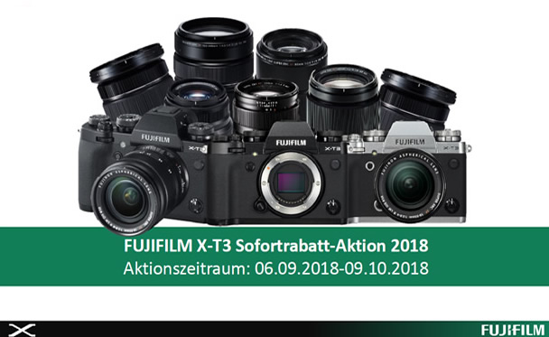 Fujifilm X-T3 Aktionen