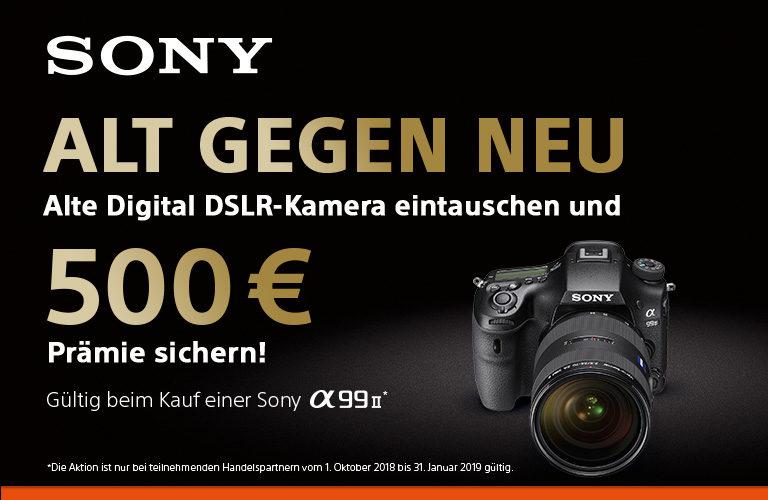 Sony Alt gegen Neu-Aktion