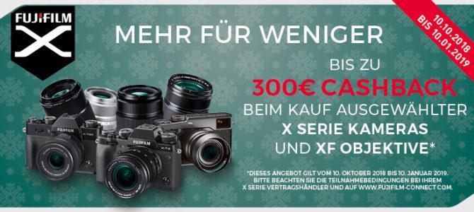 Fujifilm Winter-Cashback 2018