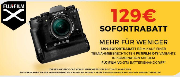 Fujifilm X-T3 Aktion