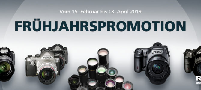 Ricoh/Pentax Frühlingspromotion