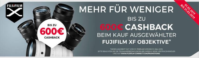 Fujifilm XF-Objektiv Aktion
