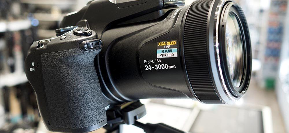 3000 mm Supertele von Nikon (P1000)
