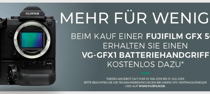 Fujifilm GFX Aktionen & Eintauschprämie