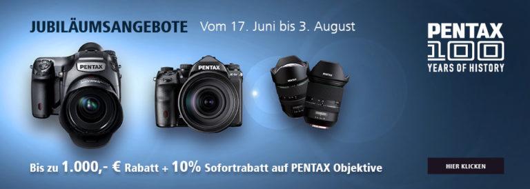 Ricoh / Pentax Sofortrabatt