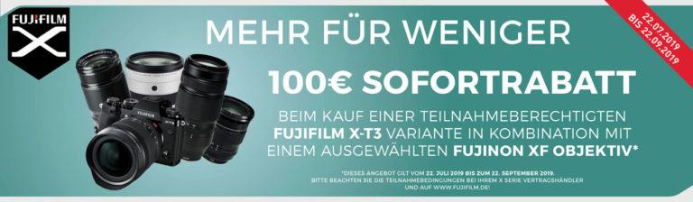 Neue Fujifilm Aktionen