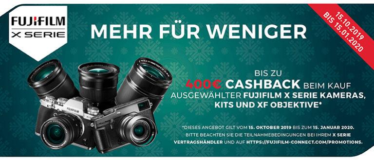 Fujifilm Winter-Cashback