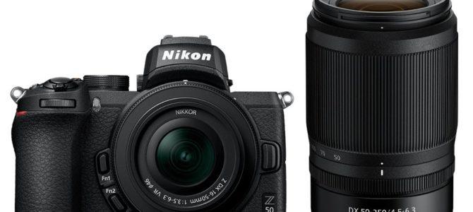 Neue spiegellose Nikon Z50 mit APS-C Sensor