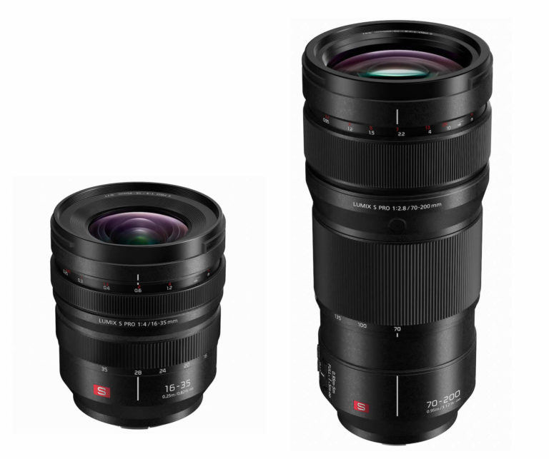 Neue Panasonic Lumix S Objektive