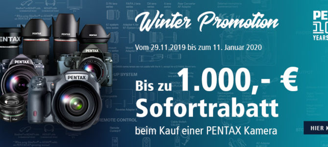 Ricoh/Pentax Winter-Aktion