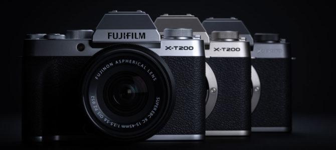 NEU: Fujifilm X-T200 und XC 35mm vorgestellt