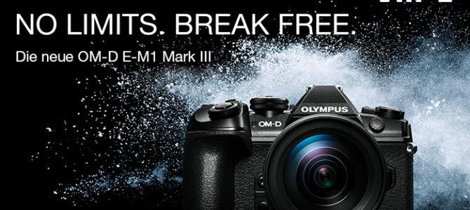 Neu: Olympus OM-D E-M1 Mark III vorgestellt