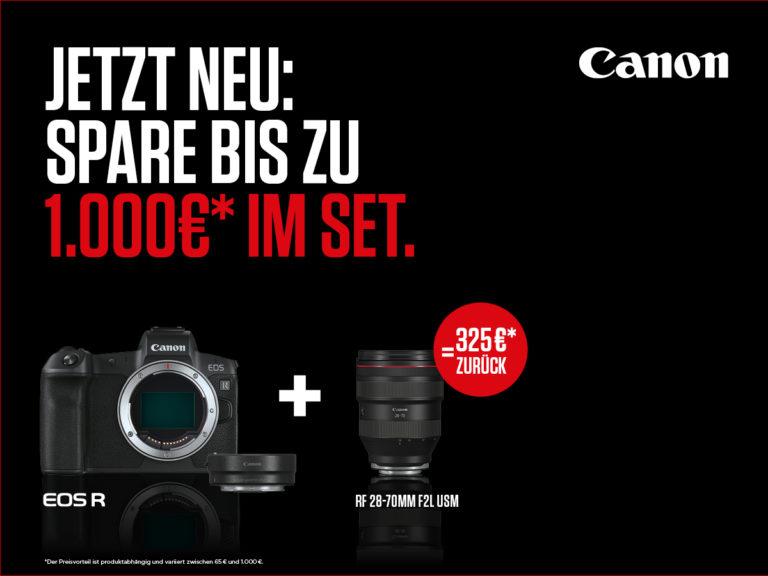 Canon Cashback – EOS plus X